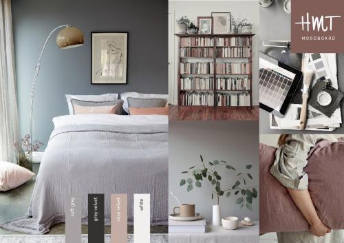 MELLOW - sengetæppe og puder